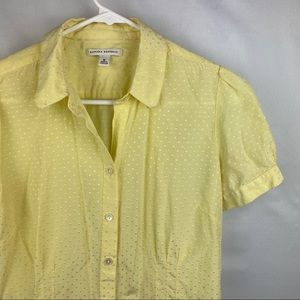 Banana republic shirt 💛